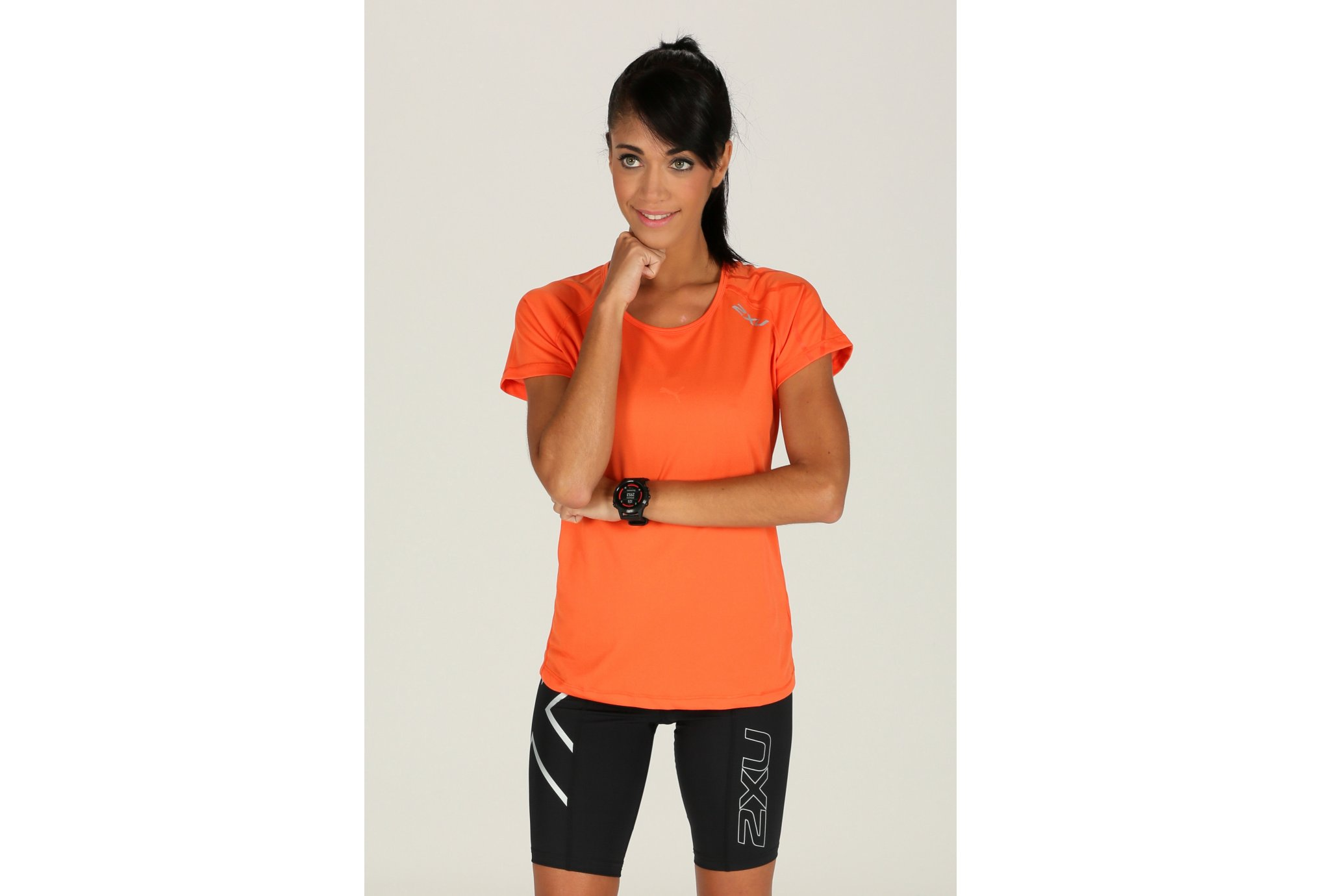 2xu Tee-Shirt ghost top w vêtement running femme