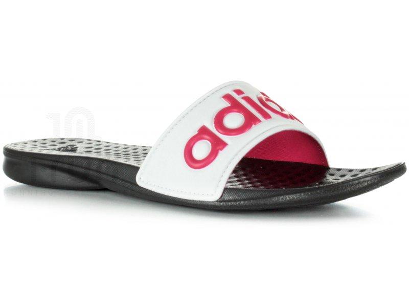 adidas claquette carodas slide w pas cher chaussures running femme running fitness training en. Black Bedroom Furniture Sets. Home Design Ideas