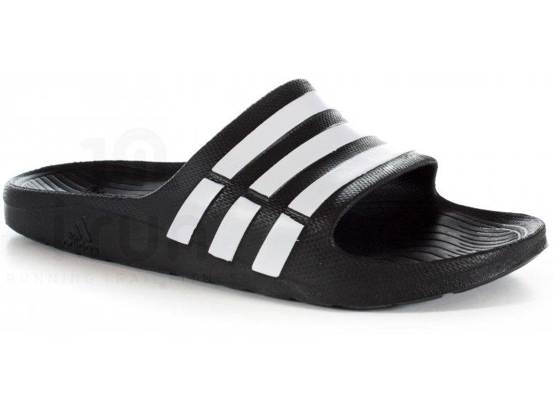 adidas claquette duramo m pas cher chaussures homme running indoor training en promo. Black Bedroom Furniture Sets. Home Design Ideas