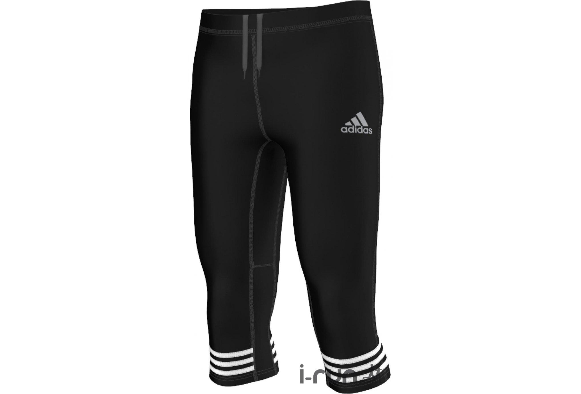 Adidas Collant 3/4 response m vêtement running homme