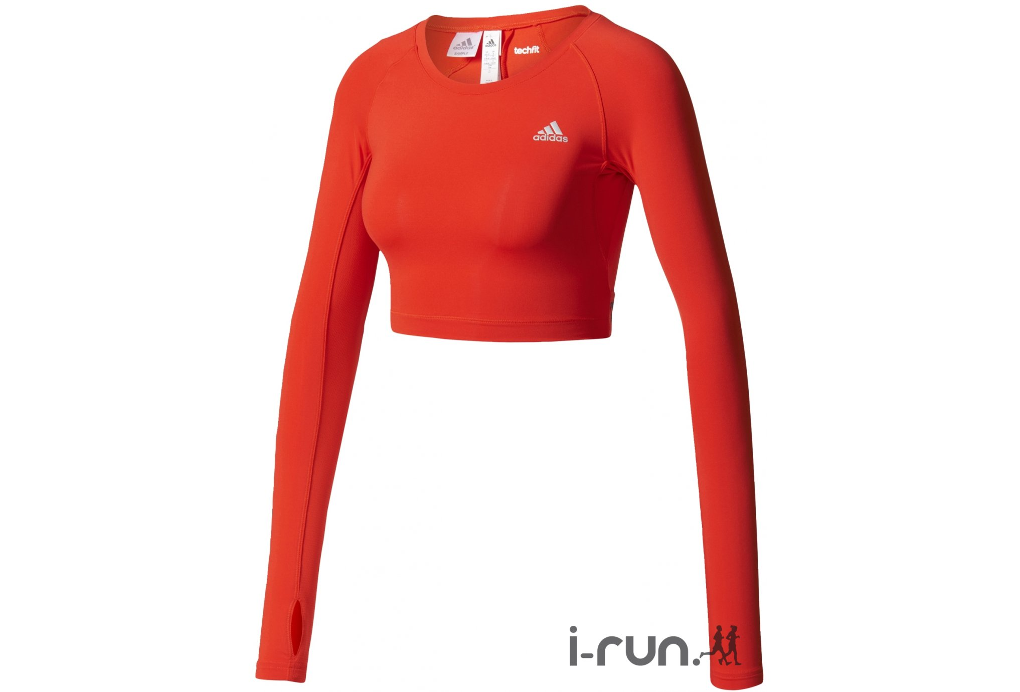 Adidas Crop techfit w vêtement running femme