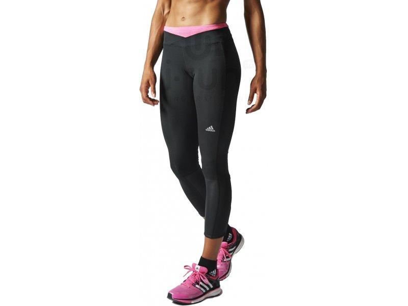 adidas legging supernova w pas cher v tements femme running collants pantalons en promo. Black Bedroom Furniture Sets. Home Design Ideas