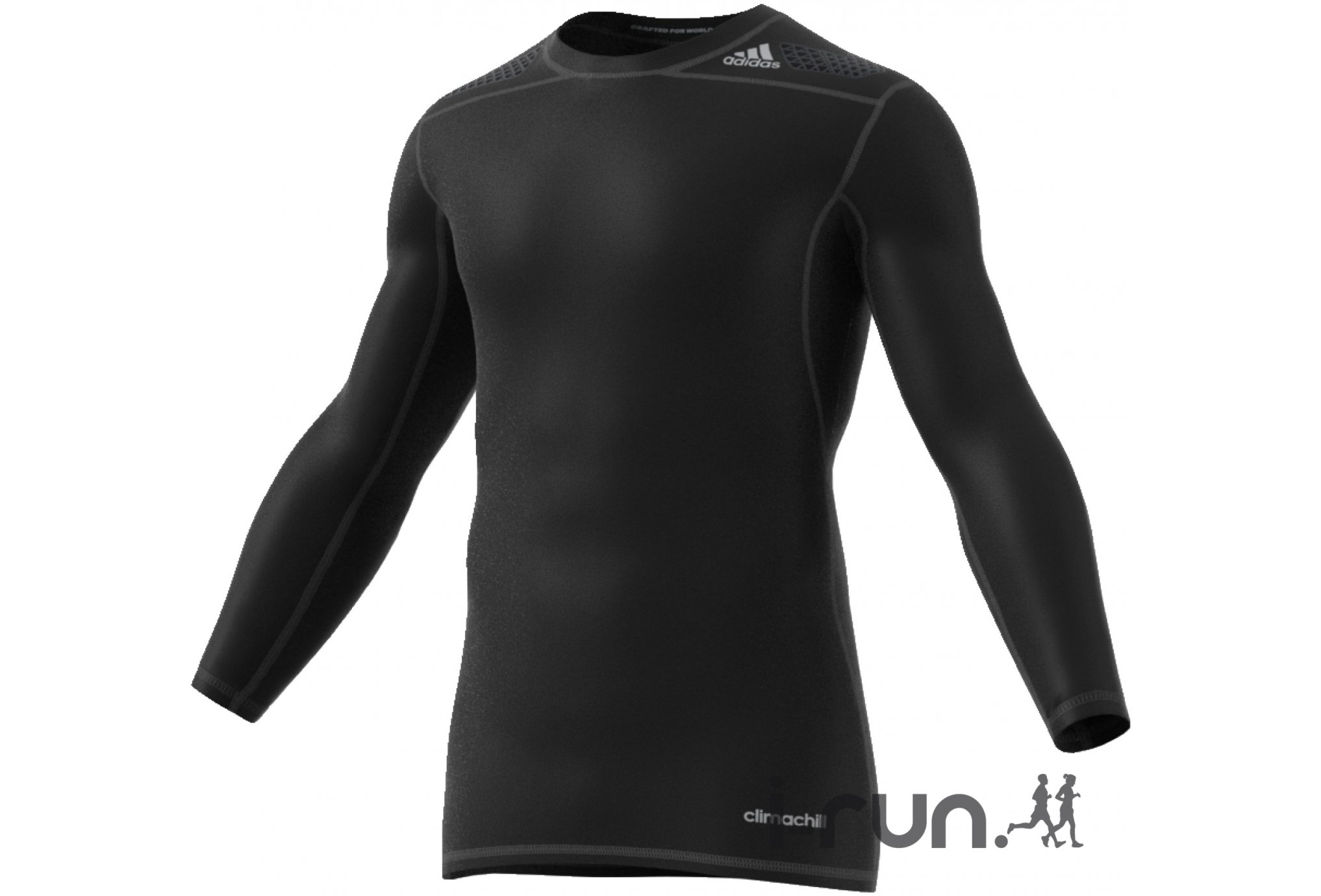 Adidas Maillot techfit power m vêtement running homme