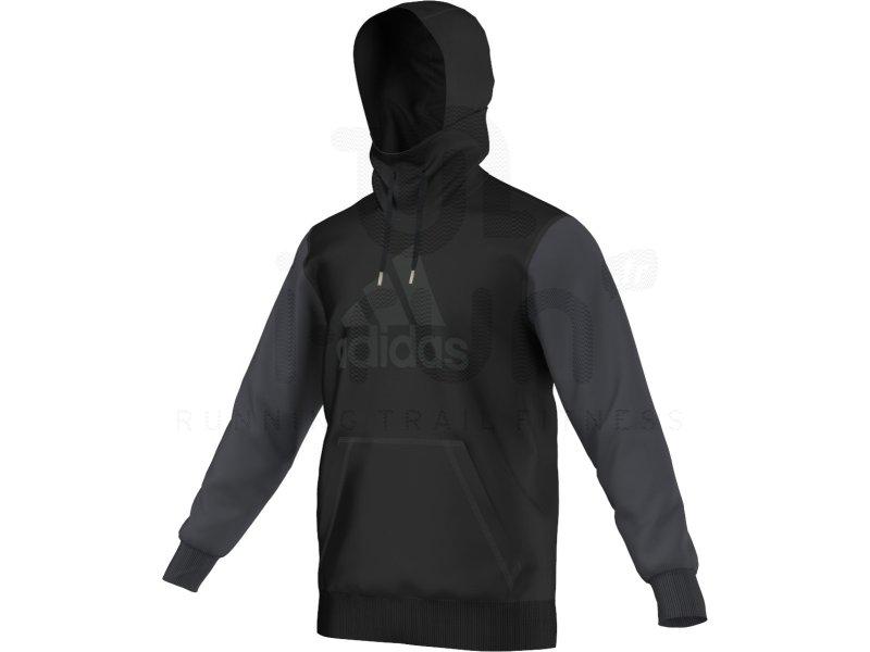 adidas sweat seasonal logo m pas cher v tements homme running sportswear en promo. Black Bedroom Furniture Sets. Home Design Ideas