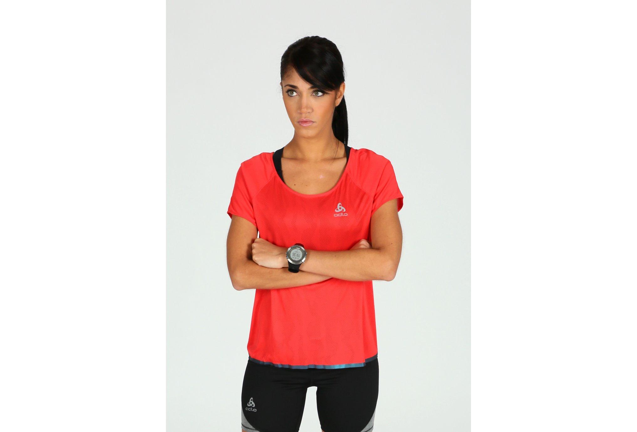 Odlo Tee-shirt Yotta W vêtement running femme