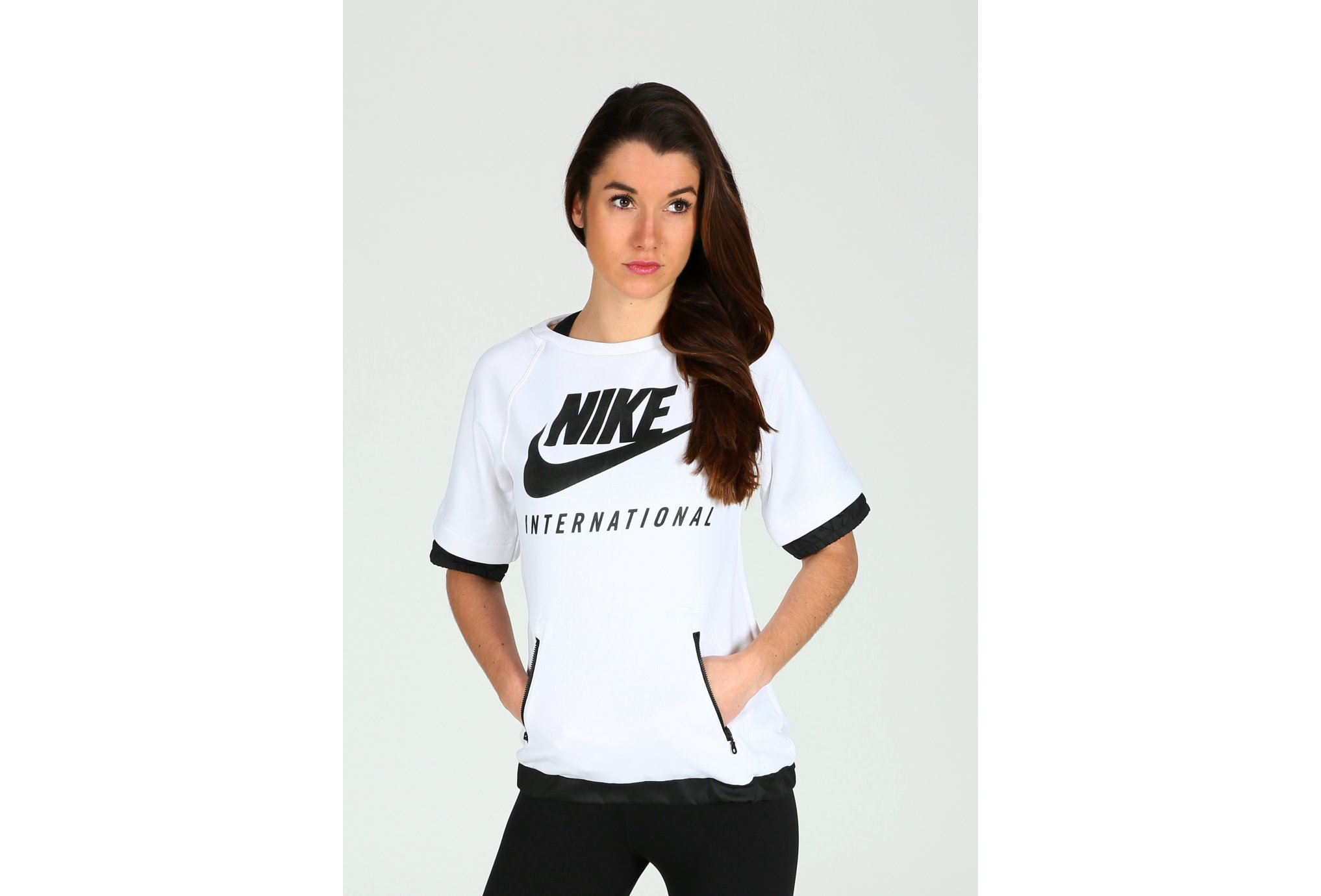 Course Nature LA LUPEENNE Nike Washed W vêtement running femme