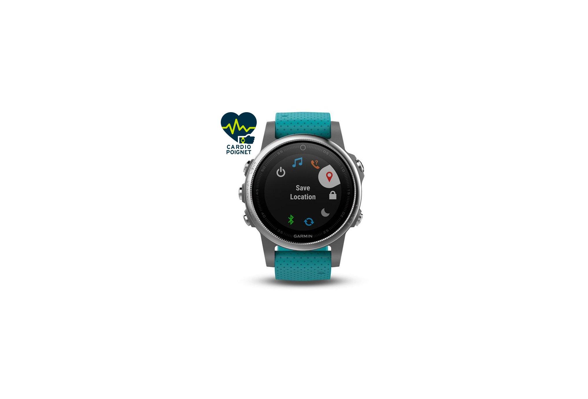 Garmin Fenix 5 S GPS Multisports Cardio-Gps