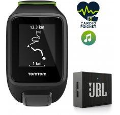 Tomtom Runner 3 Cardio + Music - Large - Haut parleur JBL