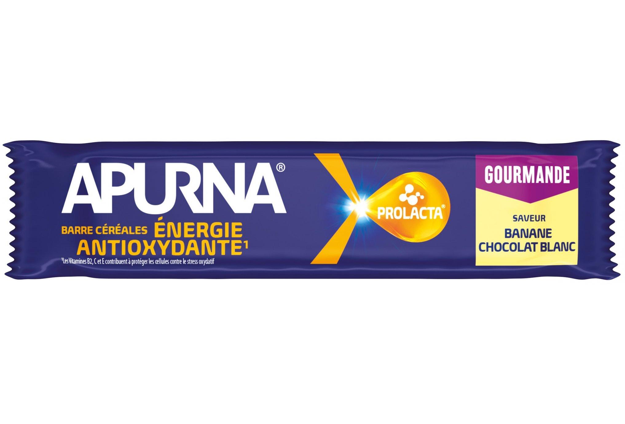 Apurna Barre énergétique - Banane/Chocolat Blanc Diététique Barres