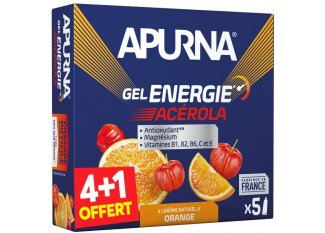 Apurna Pack  de Geles energéticos Energie Acerola 4+1