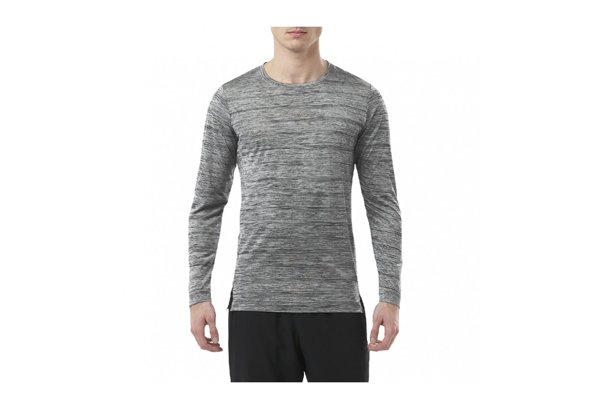 Asics Brushed ls crew m vêtement running homme