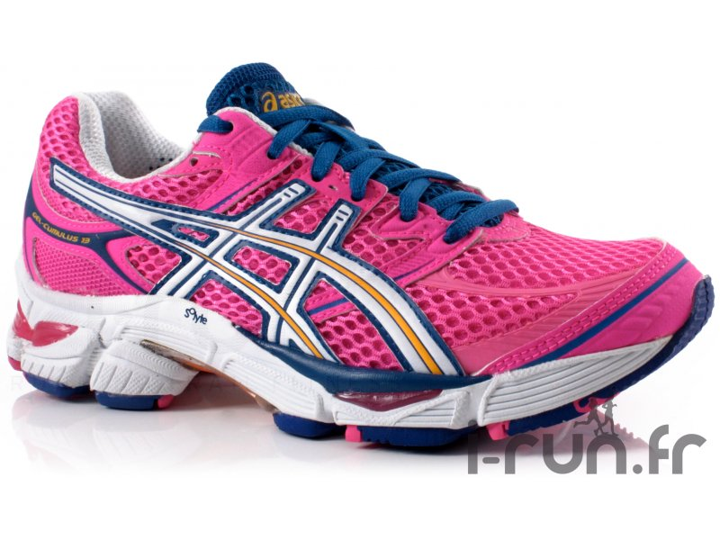 asics gel cumulus 13 w pas cher chaussures running femme running route chemin en promo. Black Bedroom Furniture Sets. Home Design Ideas