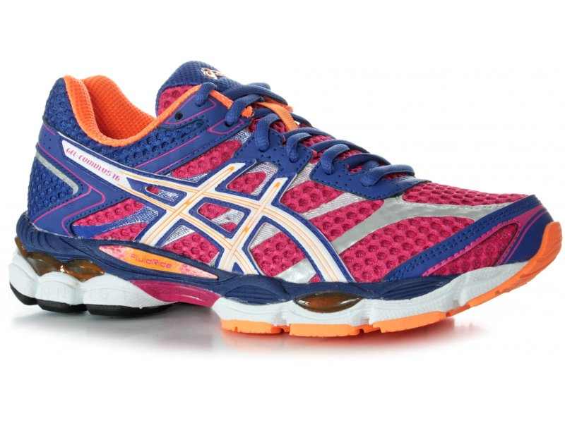 asics gel cumulus 16 w pas cher chaussures running femme running route chemin en promo. Black Bedroom Furniture Sets. Home Design Ideas