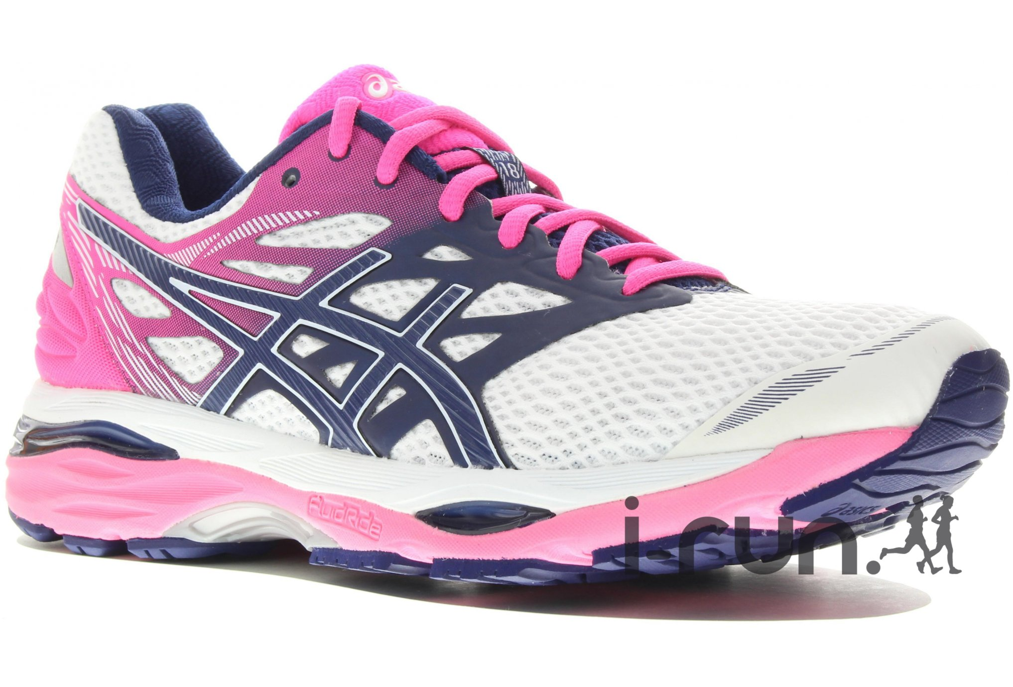 trail session asics gel cumulus 18 w chaussures running. Black Bedroom Furniture Sets. Home Design Ideas