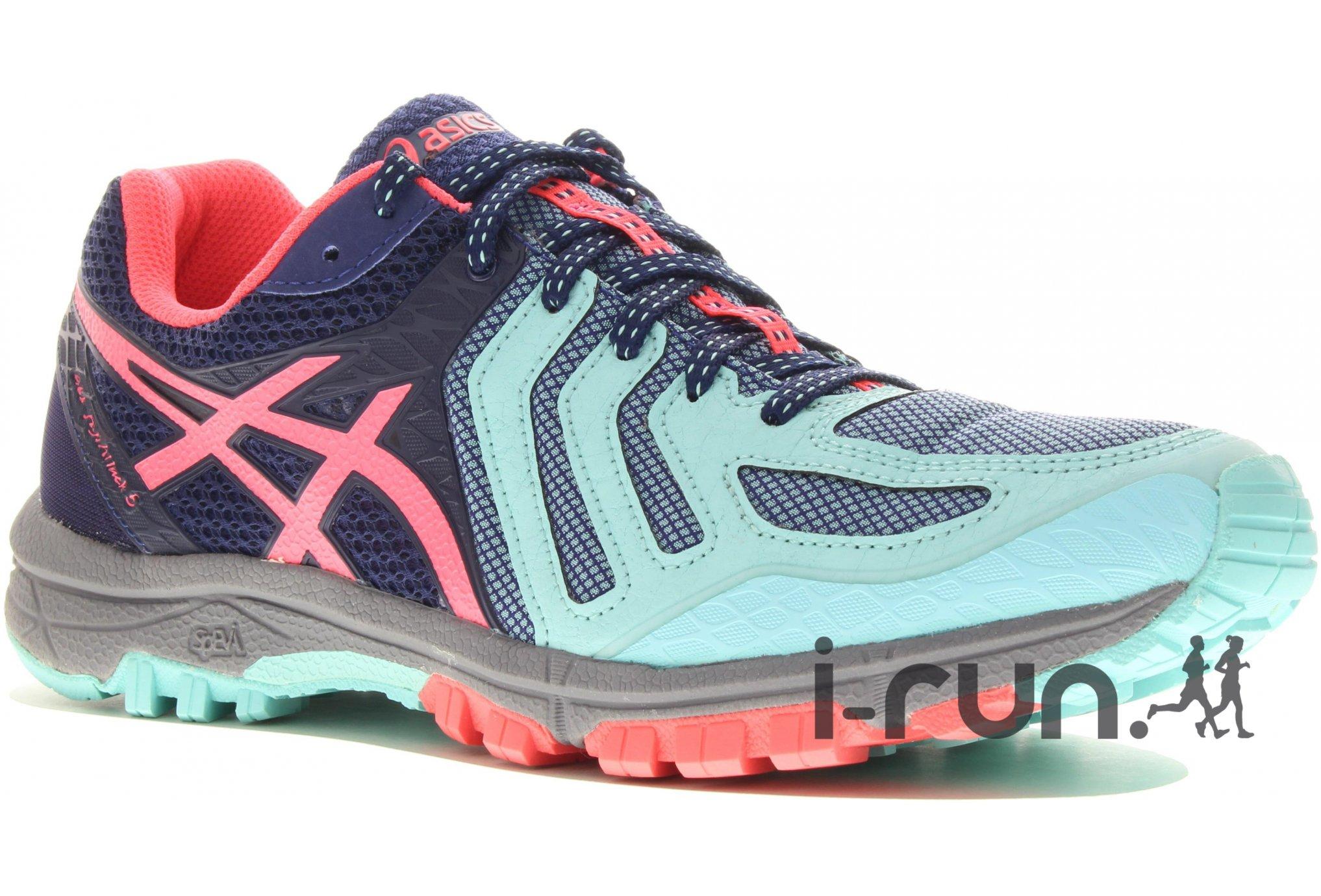 quality design cfcf5 96669 Asics GEL-FujiAttack 5 W Chaussures running femme