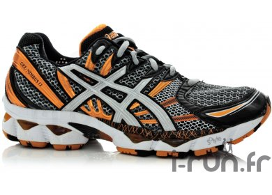 asics gel nimbus 10 homme orange