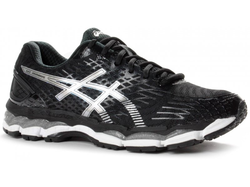 asics gel nimbus 17 m pas cher chaussures homme running route chemin en promo. Black Bedroom Furniture Sets. Home Design Ideas
