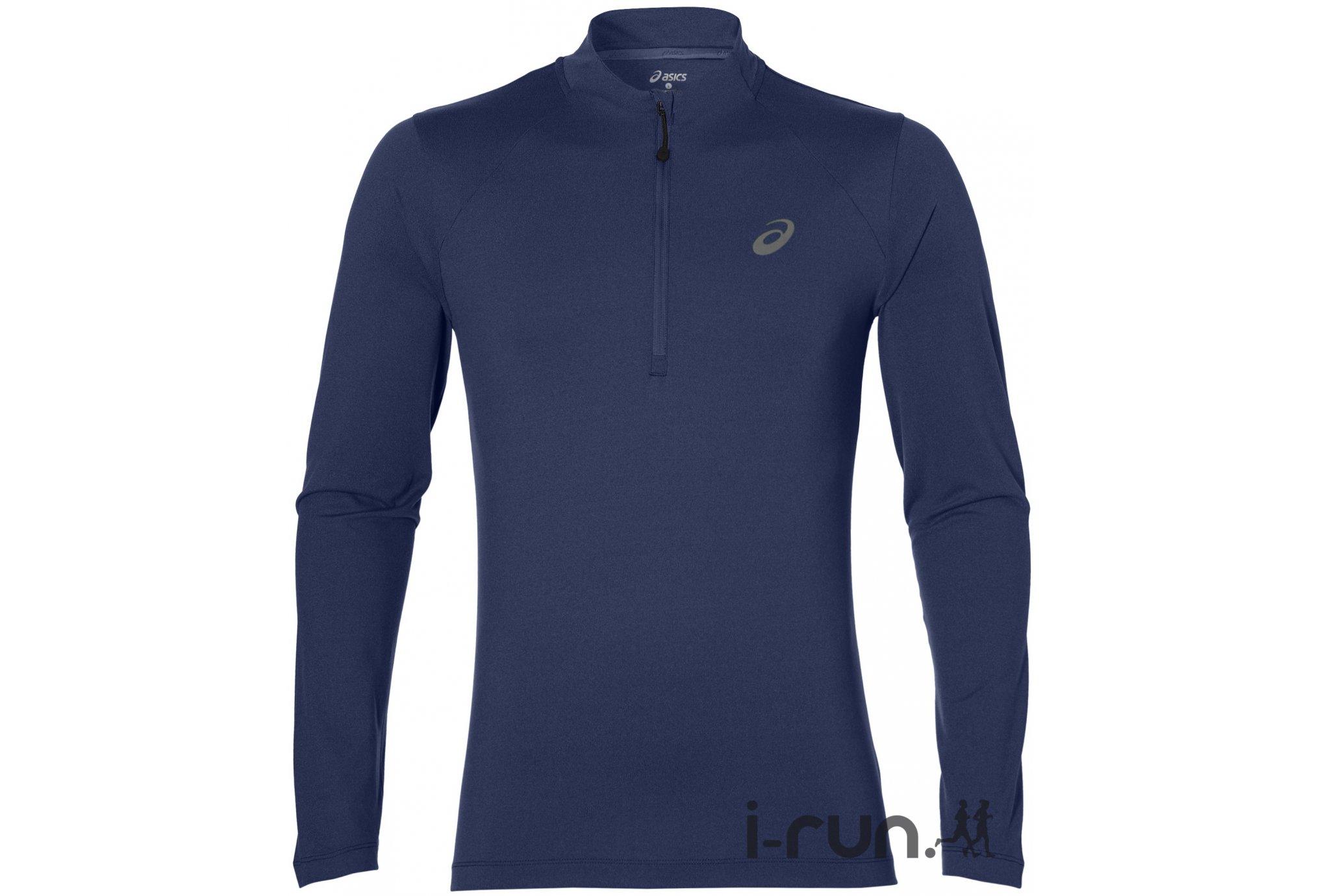 Asics LS 1/2 Zip Jersey M vêtement running homme