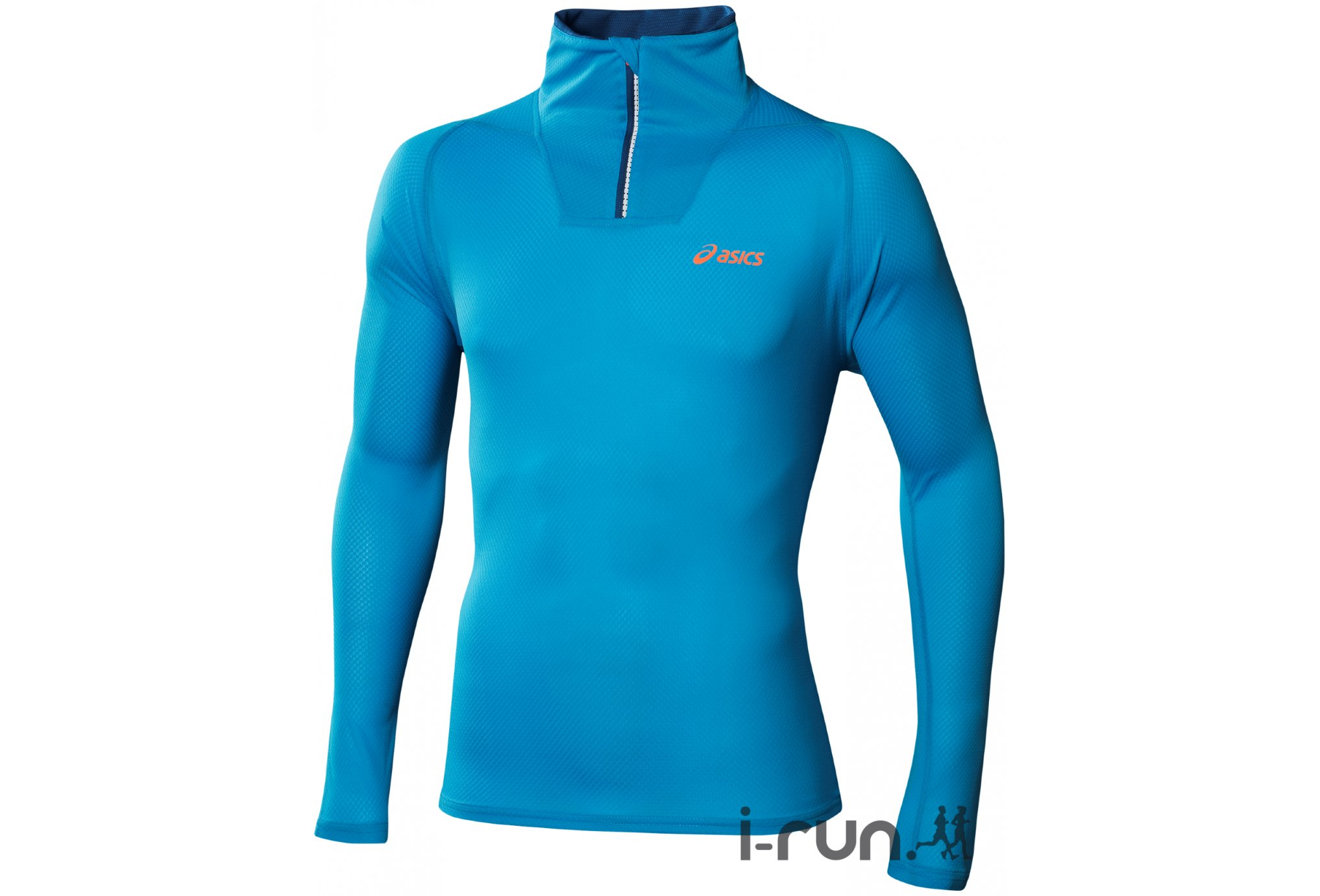 Asics Maillot Mile 1/2 Zip Top M v�tement running homme