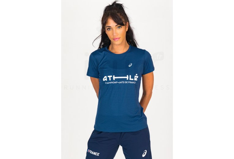 Asics Silver SS Top France W