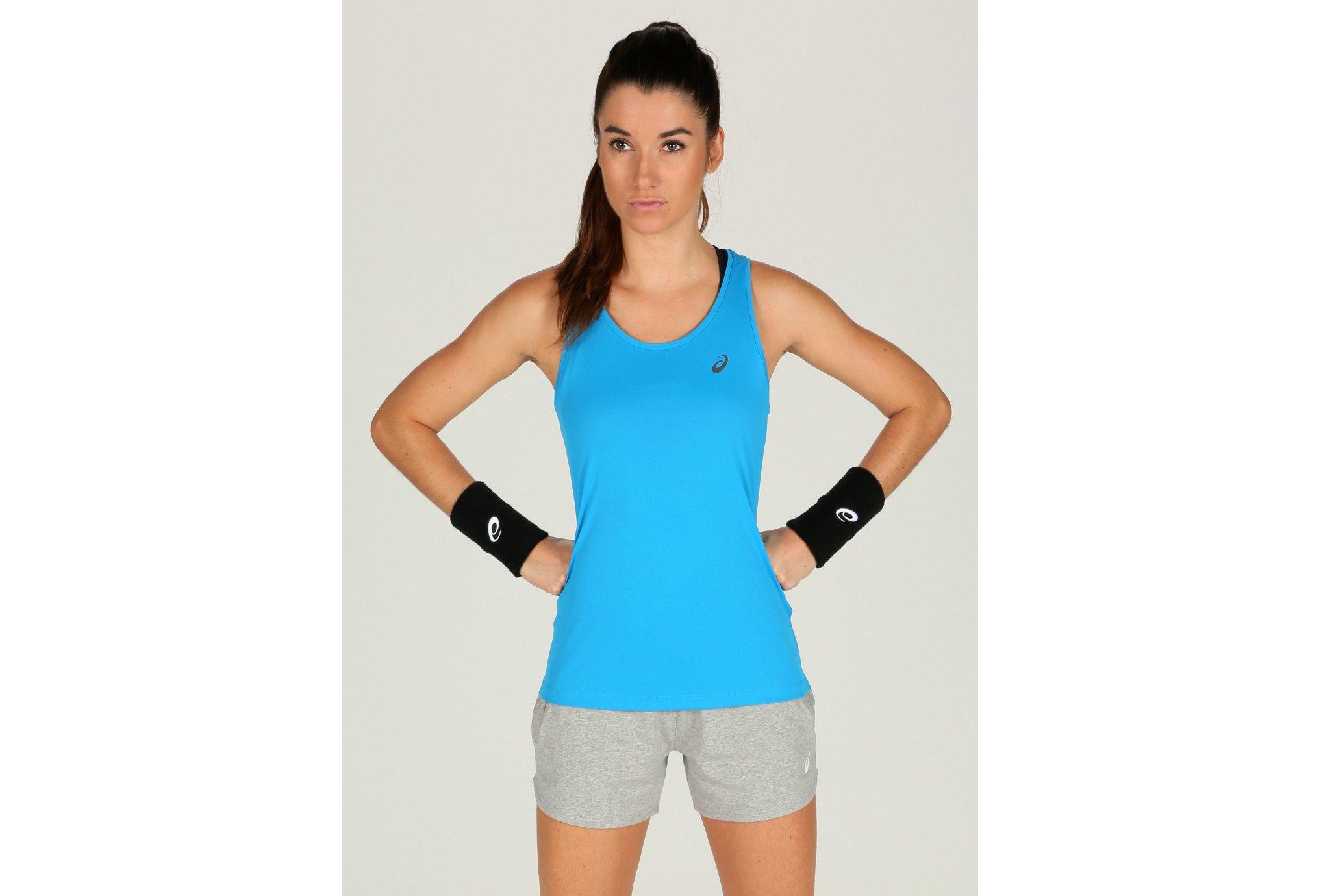 Asics Tank W vêtement running femme