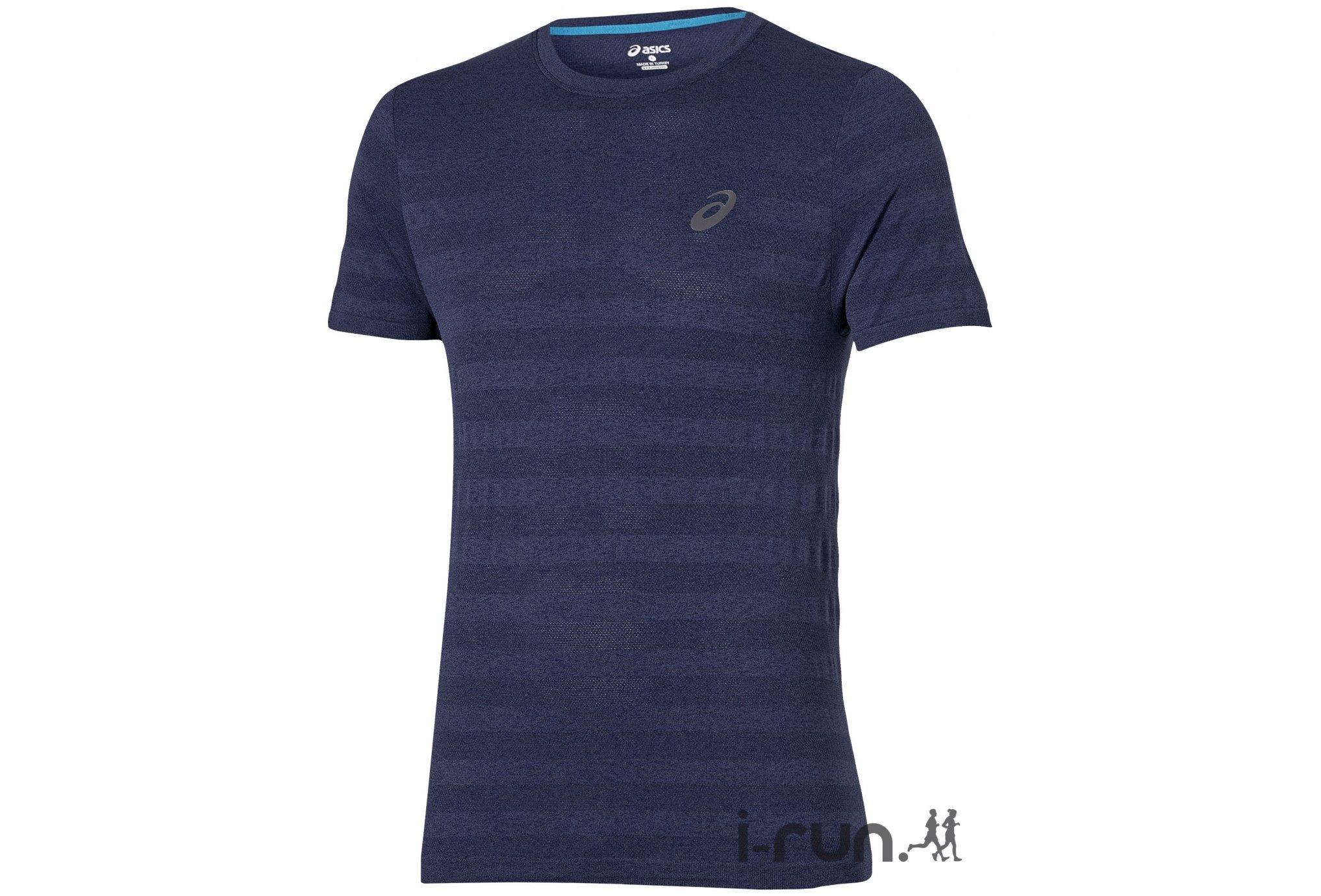 Asics Tee-Shirt FuzeX Seamless M vêtement running homme