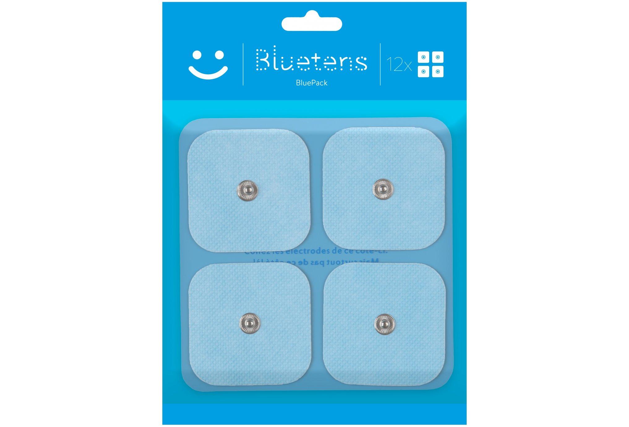 Bluetens Pack de 12 électrodes Electrostimulateur