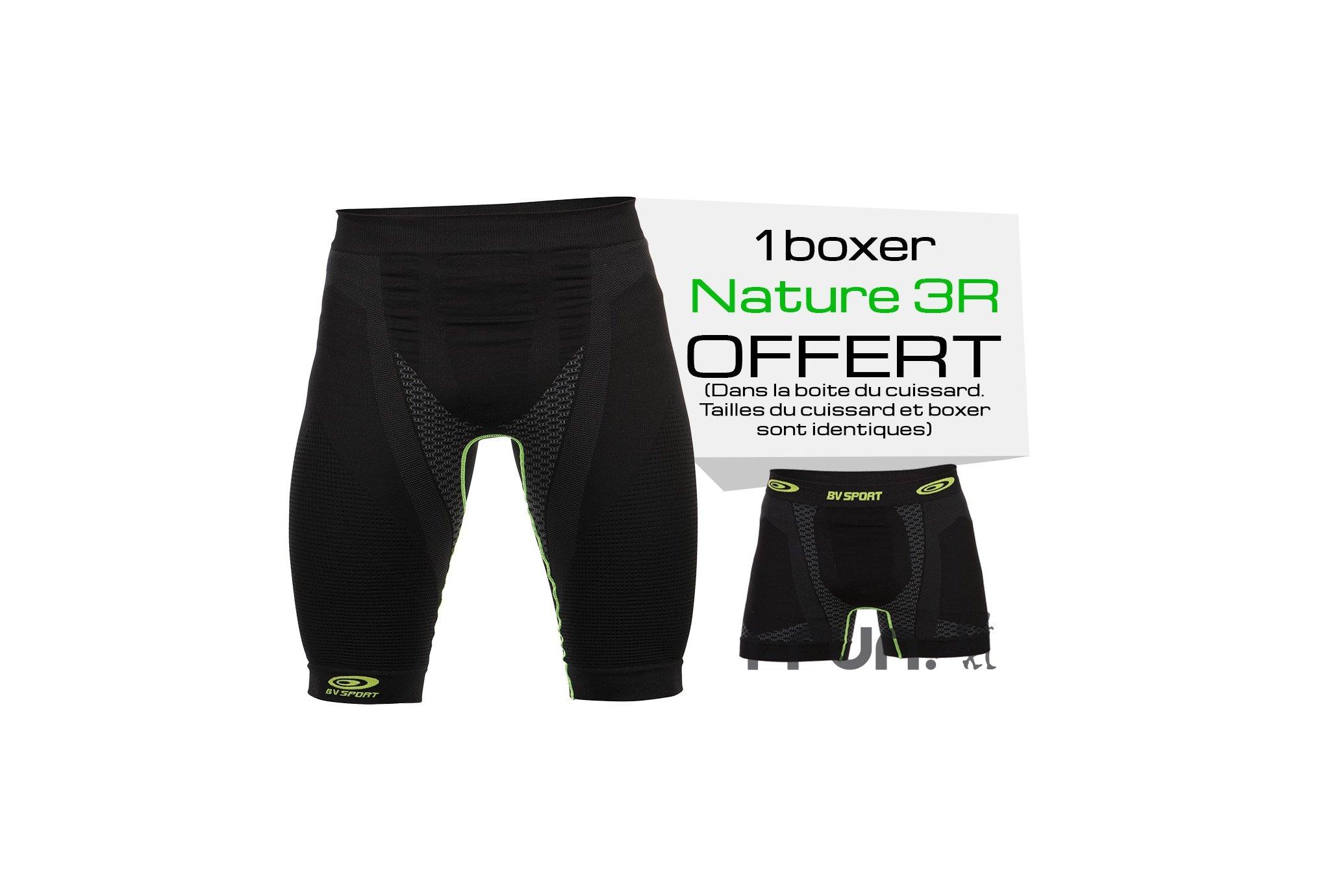 BV Sport Pack Cuissard Nature 3R et Boxer v�tement running homme