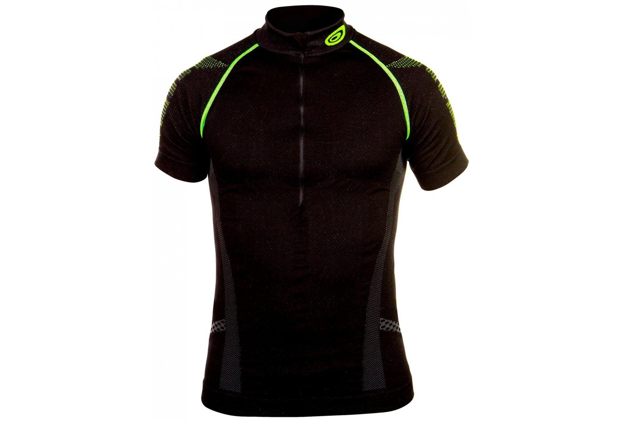 Bv Sport tee-Shirt nature 3r 1/2 zip m diététique vêtements homme