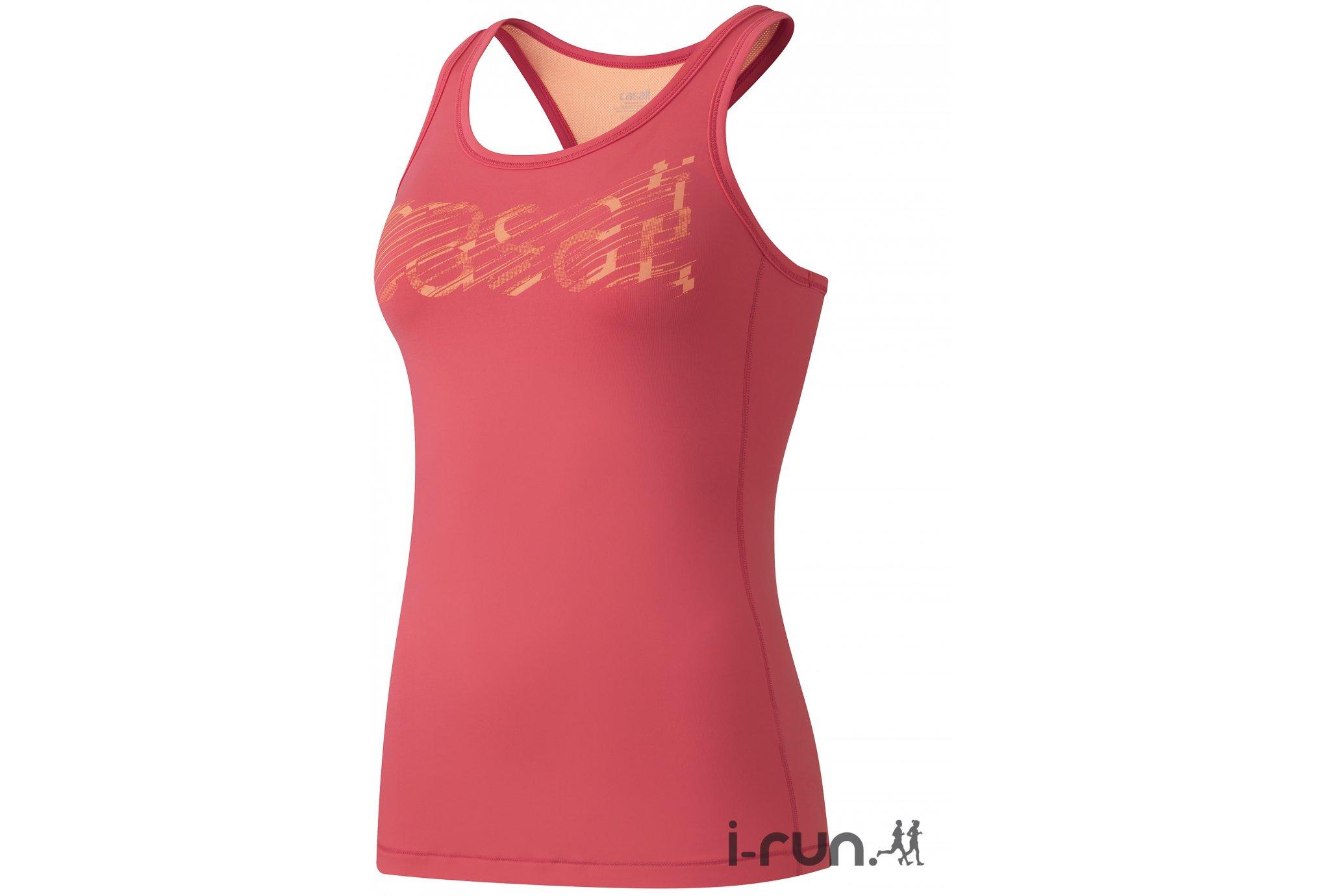 Casall Débardeur logo w vêtement running femme