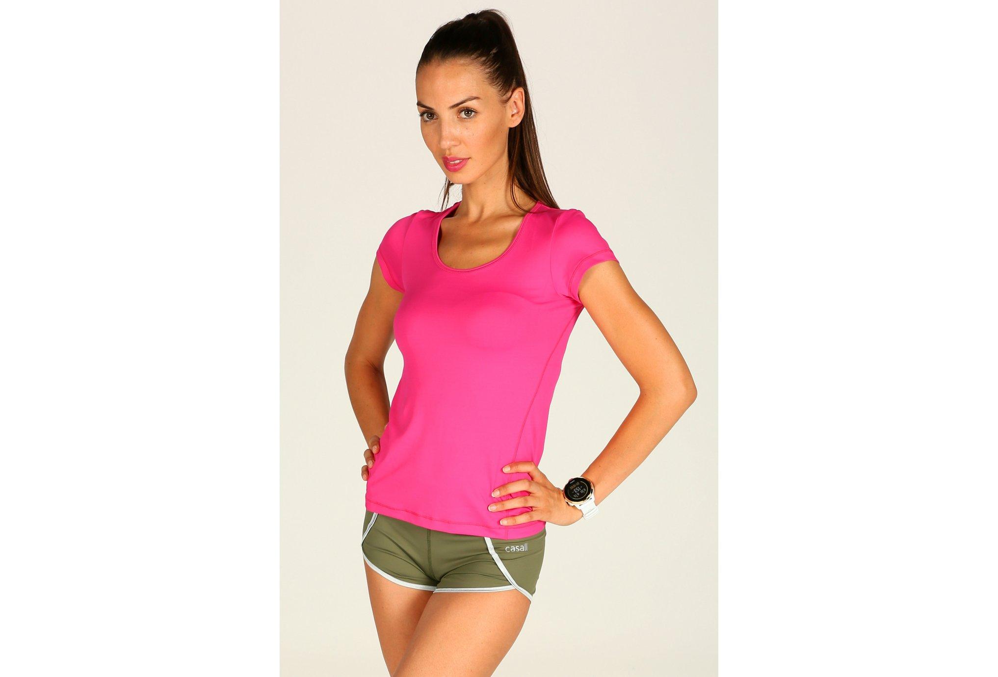 Casall Tee-Shirt essential training w vêtement running femme