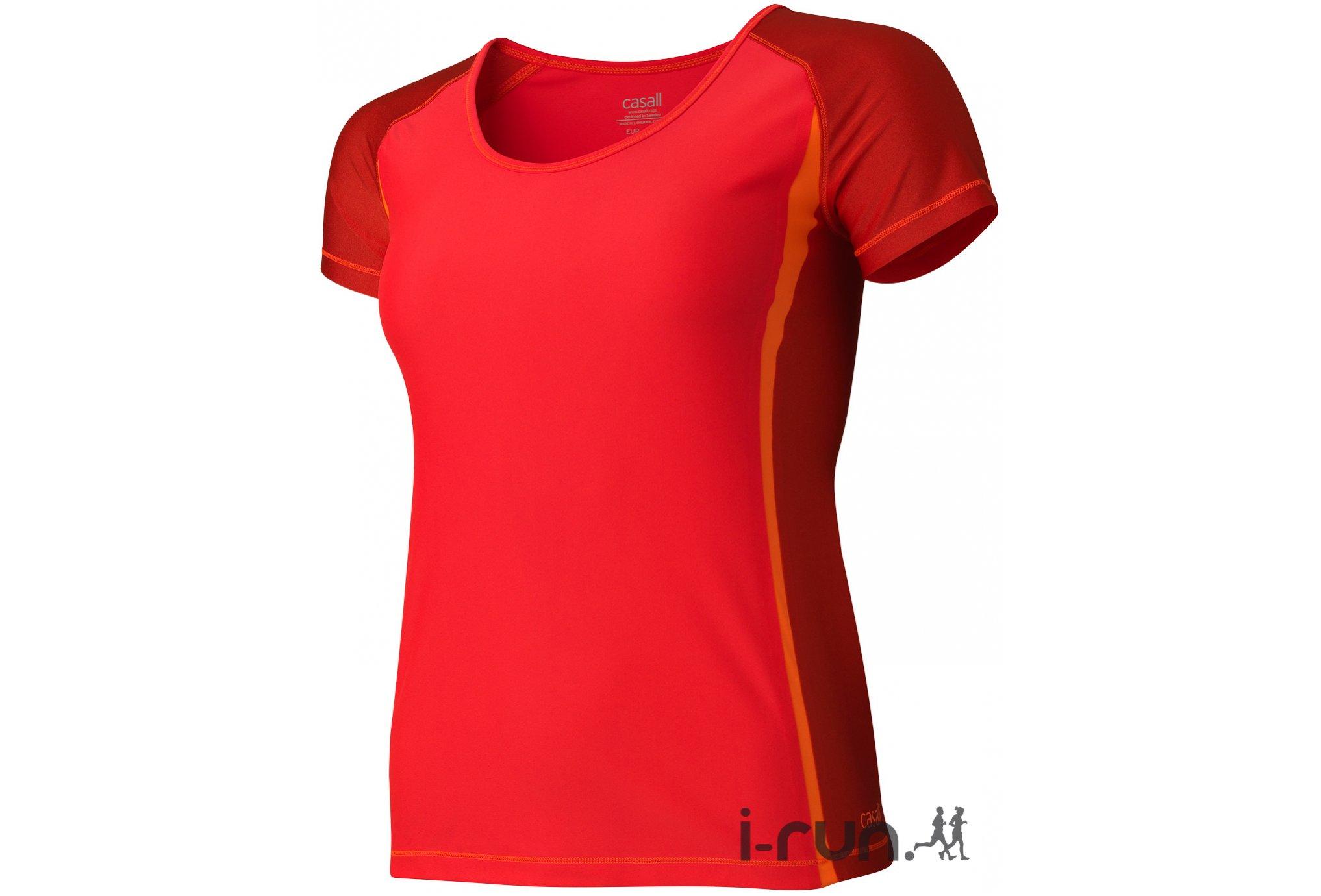 Casall Tee-shirt Pulse W Diététique Vêtements femme