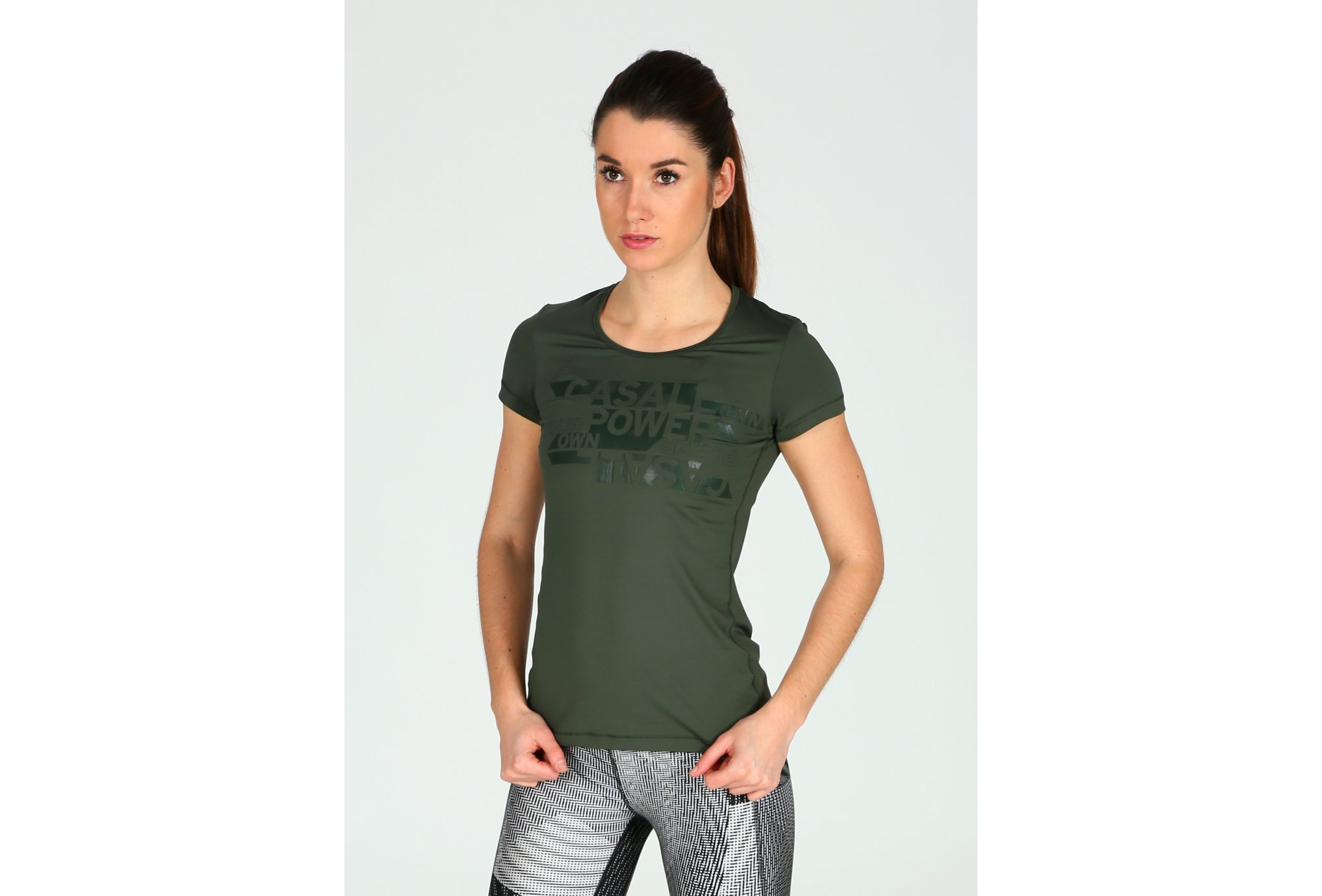 Casall Tee-Shirt Strength W vêtement running femme