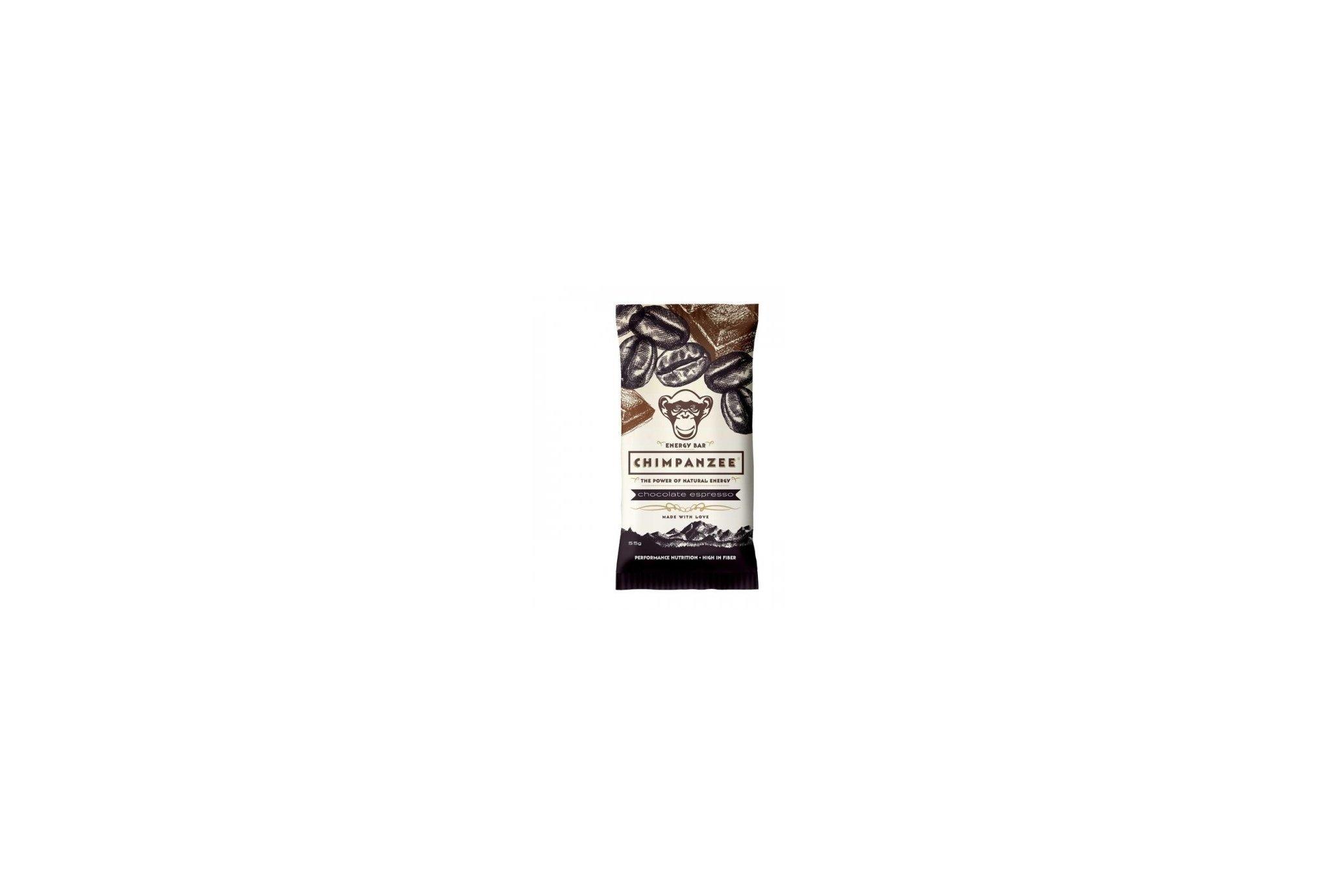 Chimpanzee Barre énergétique - Chocolat / Expresso Diététique Barres