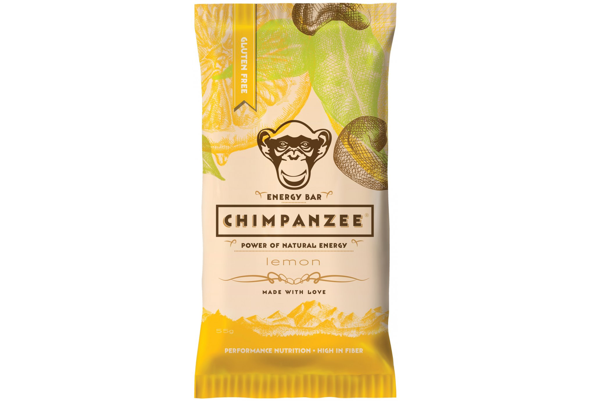 Chimpanzee Barre énergétique - Citron Diététique Barres