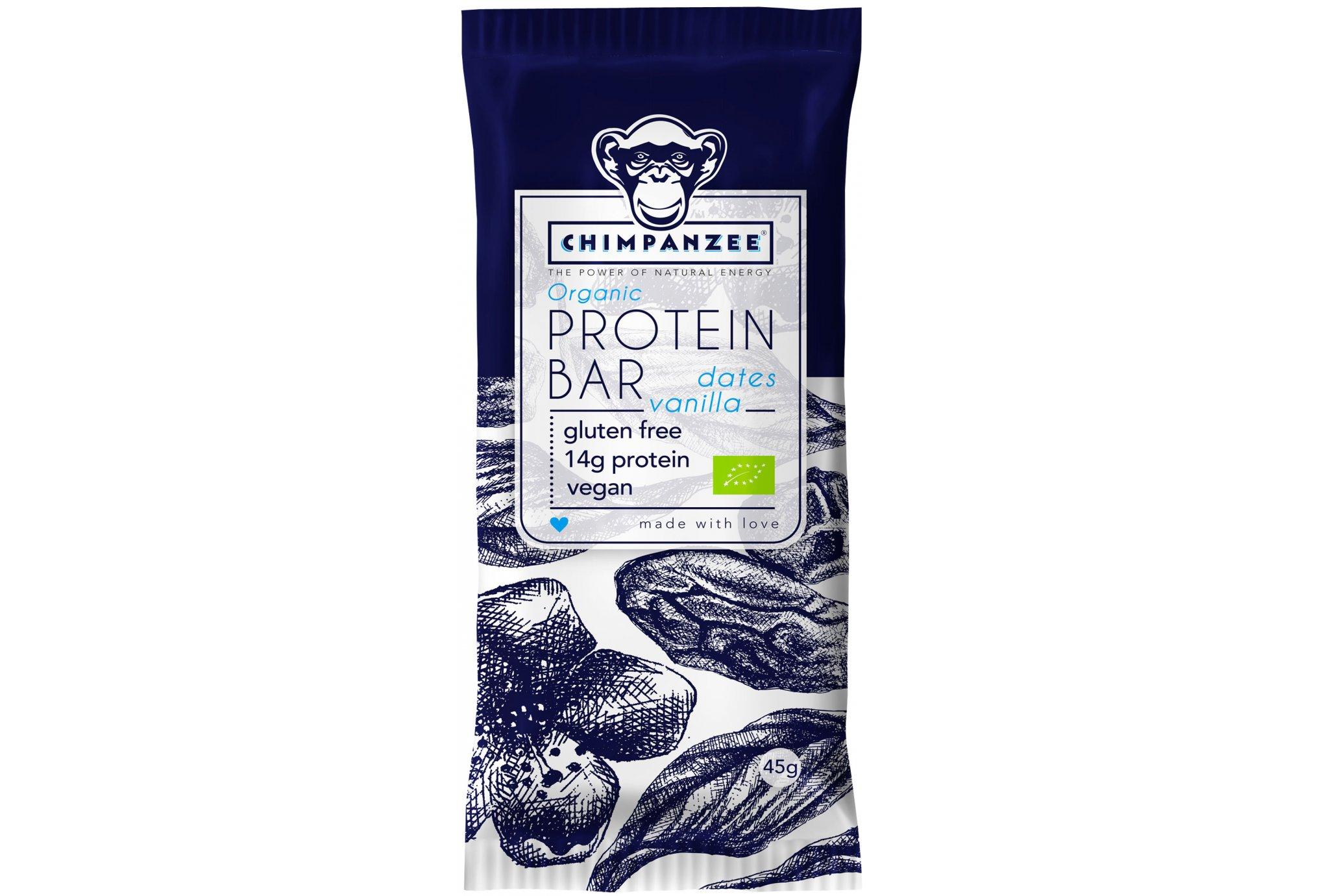 Chimpanzee Barre protéines - Dattes/Vanille Diététique Protéines / récupération