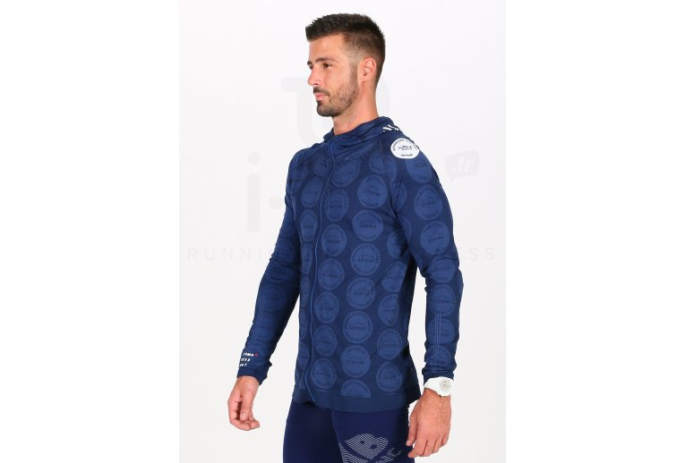Compressport 3D Thermo Seamless Hoodie Mont Blanc 2020 M