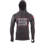 Compressport Sweat Ironman Casual Seamless Hoodie Tri226 M