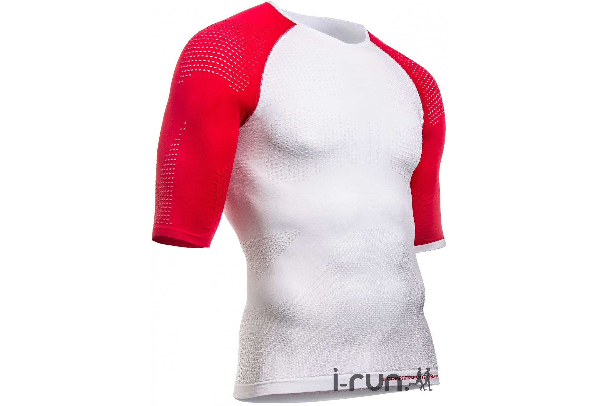 Compressport Tee-shirt ON/OFF Multisport M vêtement running homme