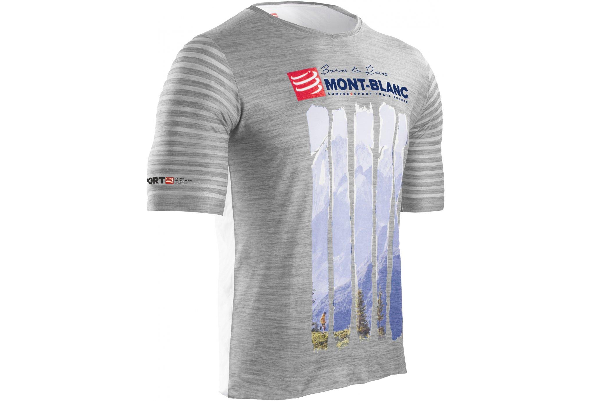 Compressport Training Tshirt Mont Blanc 2017 M vêtement running homme f0cb067c2d9