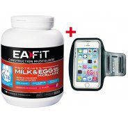 EAFIT Milk & EGG 95 micellaire 750g fruits rouges + brassard