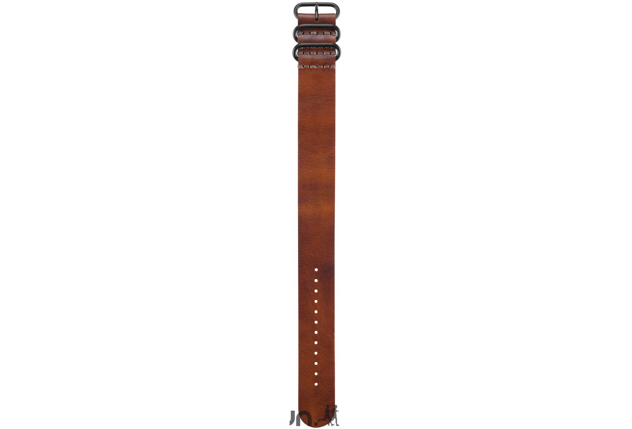 Garmin Bracelet de montre en cuir brun pour fenix 3 accessoires montres/ bracelets