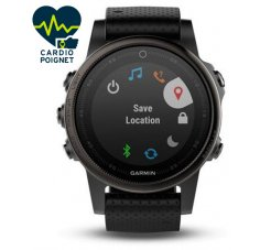 Garmin Fenix 5S GPS Multisports Sapphire Black
