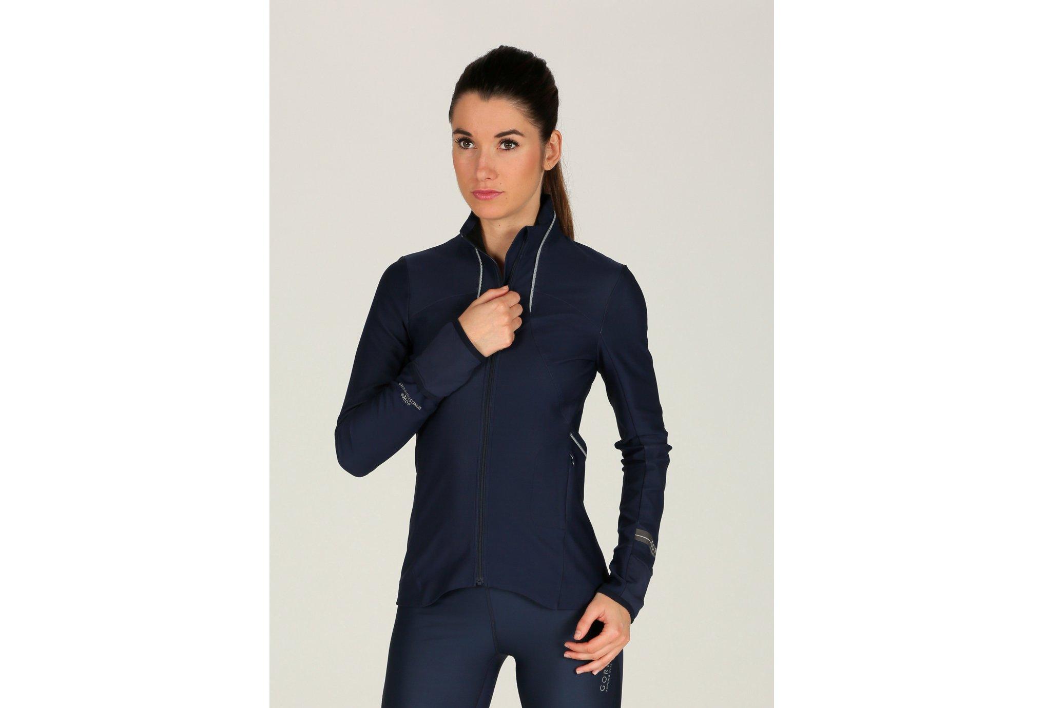 Gore Running Wear Air Windstopper Soft Shell W vêtement running femme