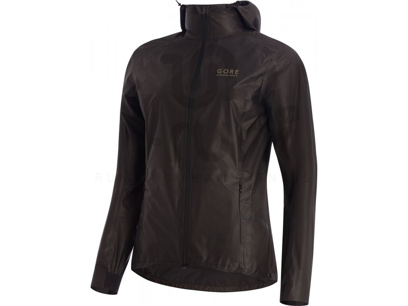 gore running wear one lady gore tex shakedry running w v tements femme running vestes coupes. Black Bedroom Furniture Sets. Home Design Ideas
