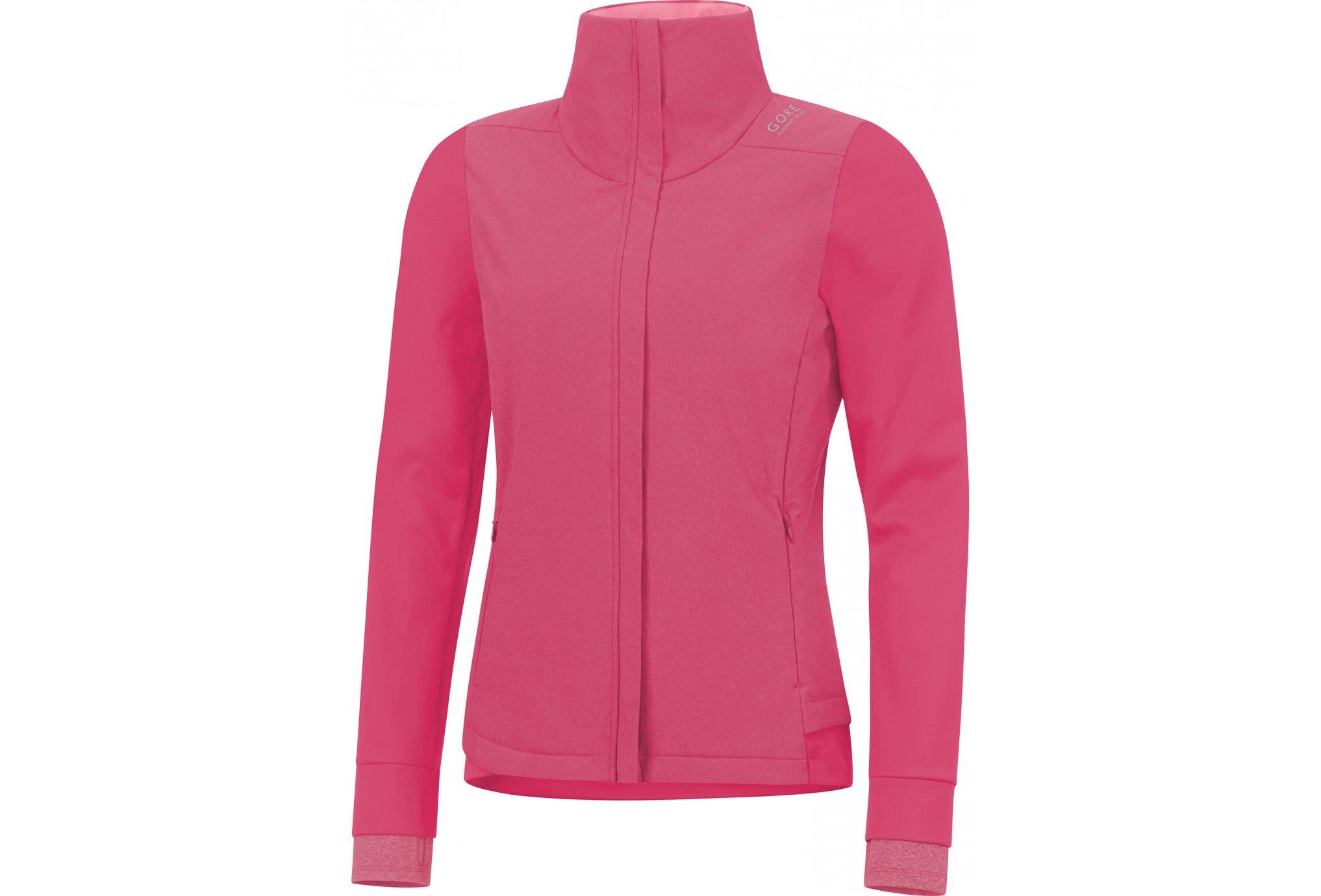 Gore Running Wear Sunlight Gore Windstopper Primaloft W vêtement running femme