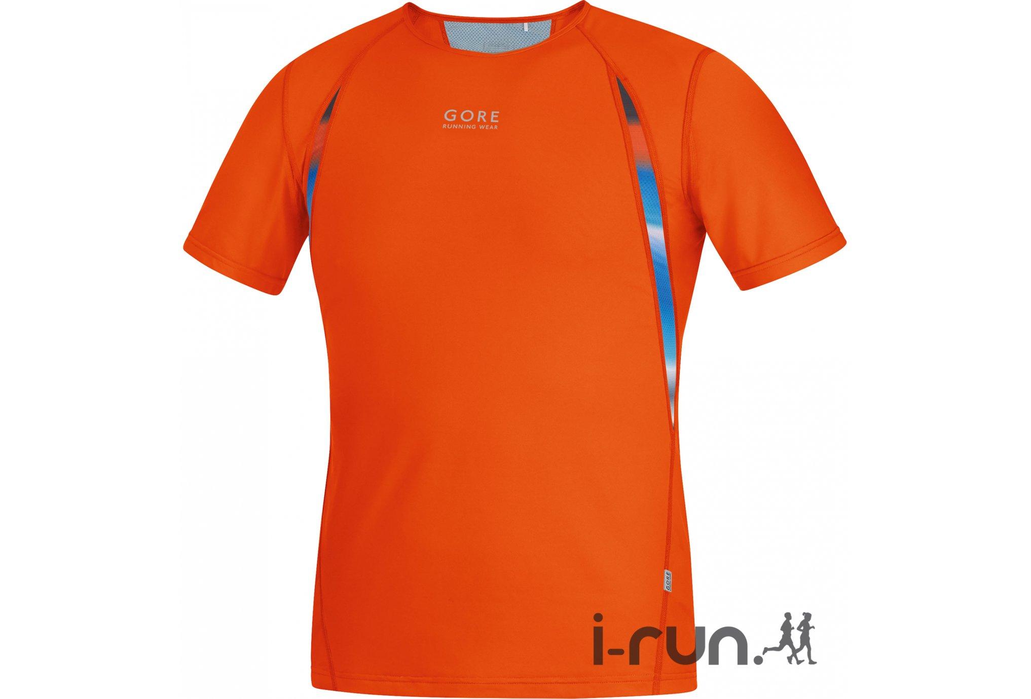 Gore Running Wear Tee-shirt Air Print M v�tement running homme