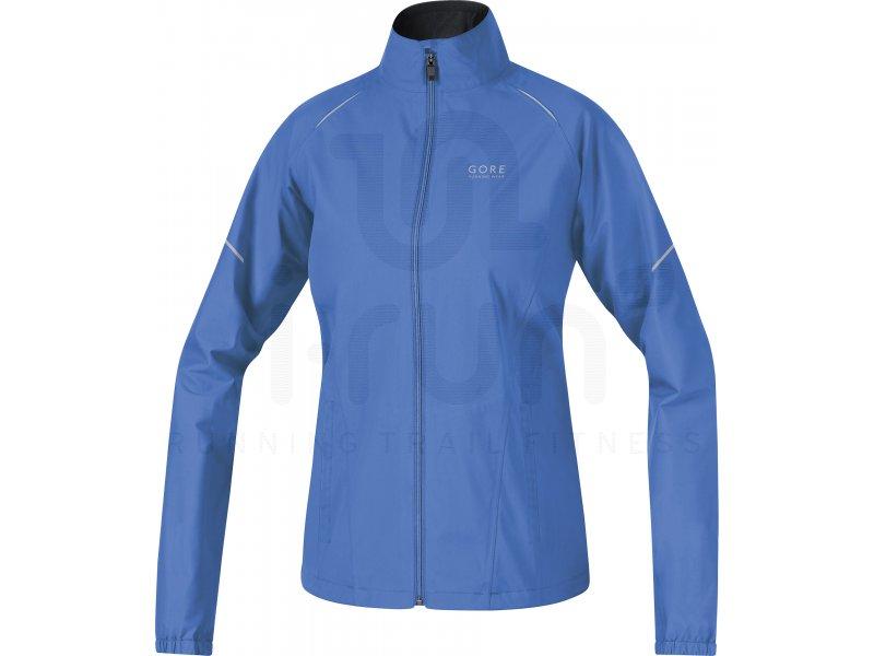 gore running wear veste essential gore tex active shell w pas cher v tements femme running. Black Bedroom Furniture Sets. Home Design Ideas