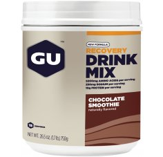 GU Boisson Recovery Drink Mix Smoothie Chocolat