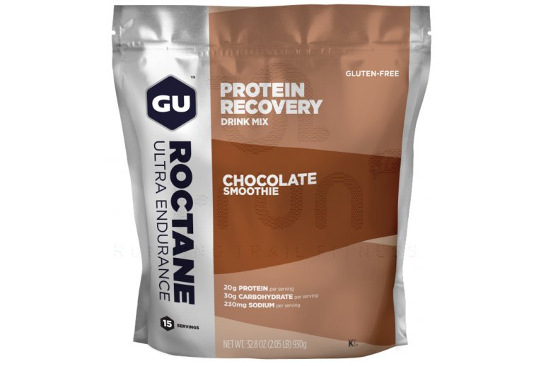 GU Boisson Roctane Protein Recovery Drink Mix - Smoothie Chocolat